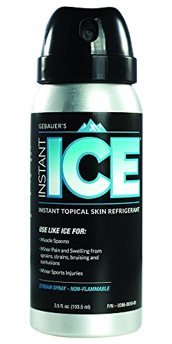 Gebauer's Instant Ice: Topical Skin Refrigerant and Cold Spray
