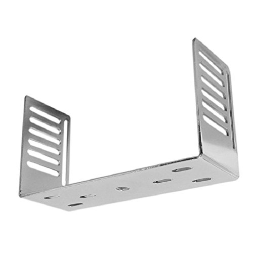 WORKMAN DXX-C ( Chrome ) CB RADIO MOUNTING BRACKET 8 1/4