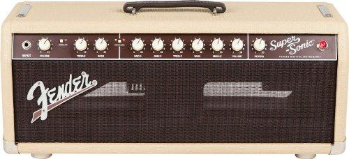 Fender Music Master Bass Amp - Fender Super-Sonic 22 22-Watt Guitar Amplifier Head - Blonde