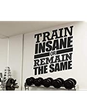 Wall Decals for Gym, Home Decor, Waterproof Wall Stickers
