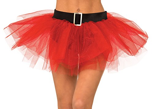 (Rubie's Women's Ms. Santa Tutu Skirt, Multicolor, Standard)