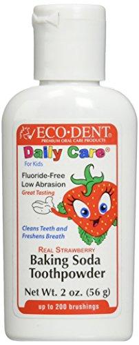 Eco-Dent Toothpowder for Kids, Strawberry 2 oz