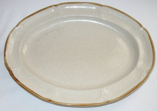 Hearthside Stoneware The Classics Oval Serving -