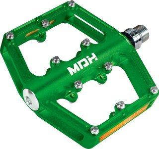MDH pxc01 MTB BMXバイクCNC合金Sealedバイクペダルステンレスピン  グリーン B01EA2M2TA