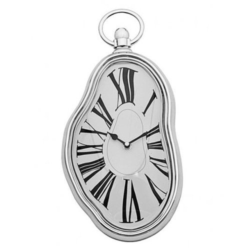 Vandue Modern Home Salvador Dali Inspired Melting Wall Clock