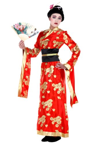 [Fun Costumes womens Adult Geisha Costume Small] (Halloween Costumes For Asian Women)