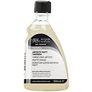 Winsor & Newton Artists' Matt Varnish, 500ml