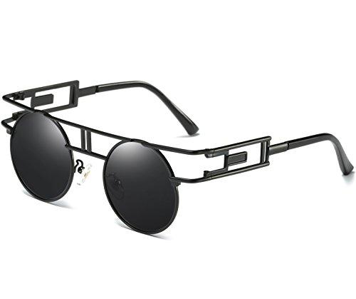 e3da42cda1 GOOD CHOICE Joopin-Round Retro Polaroid Sunglasses Driving Polarized ...