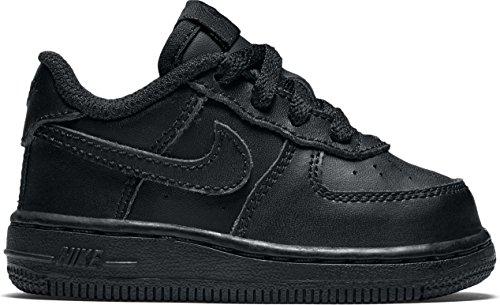 Nike Toddlers Force 1 (TD) Black/Black/Black Basketball Shoe 6 Infants US