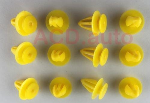 Clip 7M0867299K 30x embellecedores de nailon de panel de puerta interior: Amazon.es: Coche y moto
