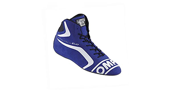 Amazon.com: OMP OMPIC/803E04147 (Latest Stock) Tecnica Evo Zapatillas My2016 Azul 47 Talla: Automotive