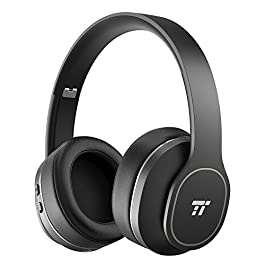 Noise Cancelling Headphones, TaoTronics Wireless Bluetooth H...