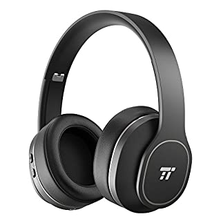 TaoTronics Active Noise Cancelling Bluetooth Headphones, Durable Over Ear Headphones with Soft Protein Ear Pads & 24 Hour Playtime, Foldable, CVC 6.0 Noise Cancelling Mic Wireless Headphones (B07G83NN32) | Amazon price tracker / tracking, Amazon price history charts, Amazon price watches, Amazon price drop alerts