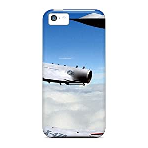 New SBP2164spqW Craft Plane Usa X 47r Skin Case Cover Shatterproof Case For Iphone 5c