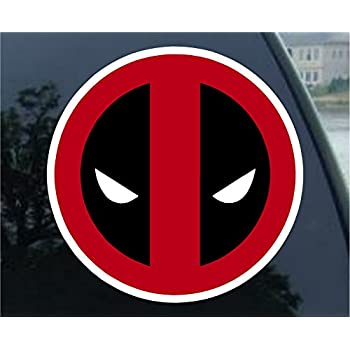 Deadpool car sticker decal 5 full color