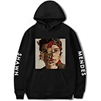 Unisex Long Sleeve Shawn Mendes Hoodies Pocket Sweatshirts Pullover for Boys and Girls