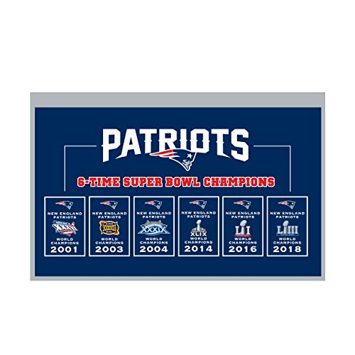 (Winning Streak NFL New England Patriots Rafter Raiser Banner)