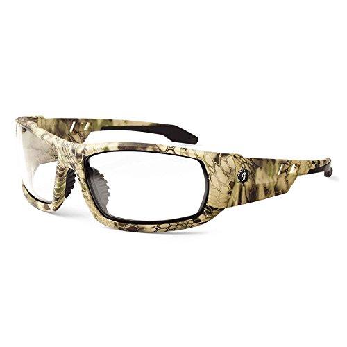 Ergodyne Skullerz Odin Safety Glasses - Kryptek Highlander Frame, Clear Lens