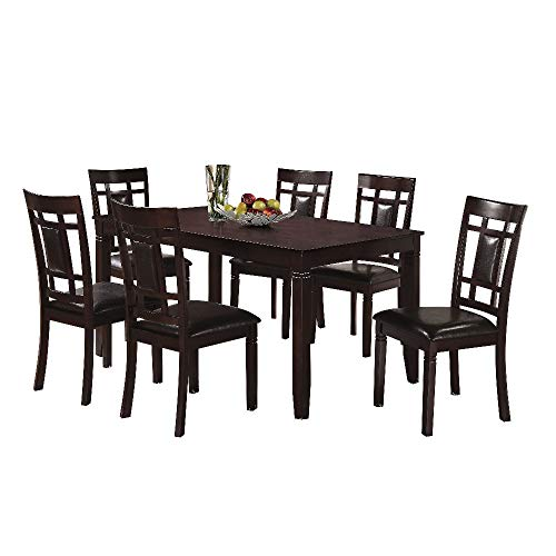 Svitlife Kansas Dining Set 1 Table 4 Chairs Oak Carved Suite Walnut Mahogany Victorian Horner Griffin -