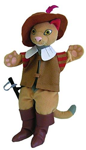 Au Sycomore - MA35016 - Marionnette à Main 35 cm - Chat Botté