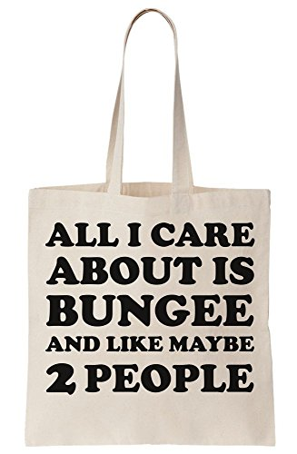 People Care About Bag Is Like Tote And Canvas Maybe I Bungee All 2 T5qz7