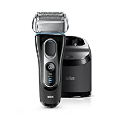 The Braun Series 5 electric shaver gives you efficiency in every stroke, shaving even dense beards and reaching difficult areas. A 100% waterproof razor designed to last up to 7 years, for maximum performance and excellent skin comfort. Trave...