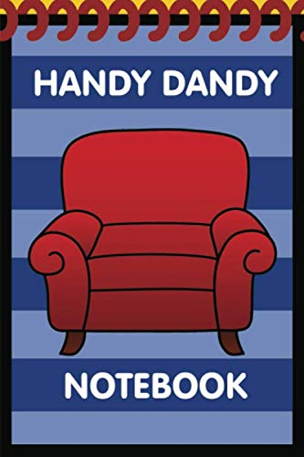 Handy Dandy Notebook: New Style - Kids little 6x9 inch notebook for drawing and detective clues with 120 sheets