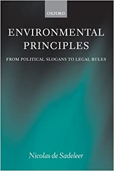 Descargar Bitorrent Environmental Principles: From Political Slogans To Legal Rules Donde Epub