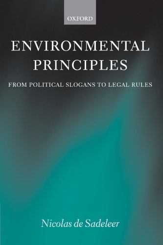Environmental Principles: From Political Slogans to Legal Rules by Oxford University Press