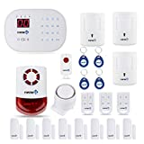 Fortress Security Store (TM) S02-C Wireless Home Security Alarm System Pet Immune DIY Kit with Auto Dial + Outdoor Strobe Alarm