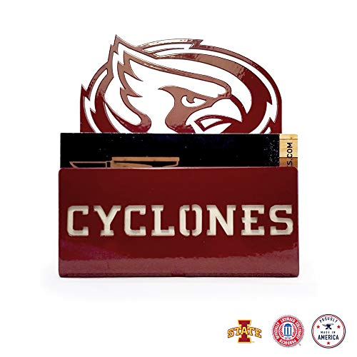 Gameday Ironworks Iowa State Cyclones Steel Business Card - Tailgating Shop Games