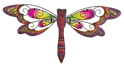Regal Art & Gift Dragonfly Wall Decor, 8-Inch