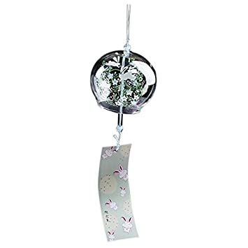 SODIAL(R) Creative Japanese Handmade Glass Painting and Wind Chimes Door Decoration Gift for Girls Style 6