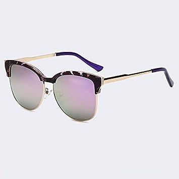 TIANLIANG04 Lunettes de soleil Femme Fashion ovale de lunettes,C04 White