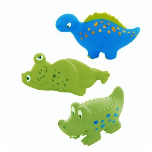 Animal Crackers Squirt Bathtub Toys (set of ()