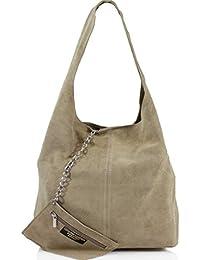 b59f2d14fe6a Ladies Women Real Suede Leather Hobo Shoulder Handbag · unbrand