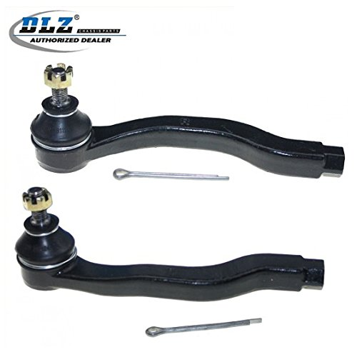 - DLZ 2 Pcs Front Suspension Kit-2 Outer Tie Rod End Compatible with 1992-2000 Honda Civic 1993-1997 Honda Civic Del Sol 1997-2001 Honda CR-V 1997-2000 Acura EL 1994-2001 Acura Integra ES2943R ES3332R