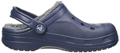 Sabots navy Adulte Clog charcoal Bleu Mixte Winter Crocs 7qTFAF