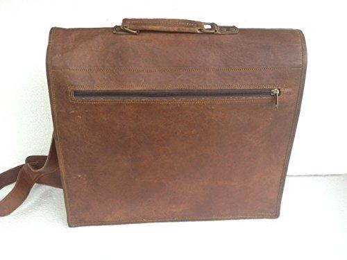 koolleather , Borsa Messenger  marrone brown