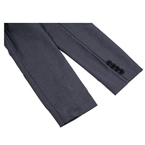 camiseta moda SODIAL capucha XL de Gris pecho Casual delgado Chaquetas trinchera solo oscuro R Escudo con encanto Hombres Talla wFRRxEH0q