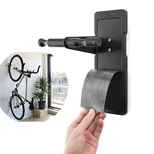 Maxfind High Polymer Plastic Bicycle Wall Storage Rack Indoor Wall Mount Stand Bike Holder by Anddoa (Image #4)