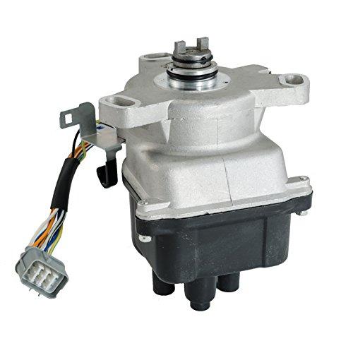 Hex Autoparts Ignition Distributor for Honda Civic 1.6L D16Y7 D16Y8 D16B5 B16A2 1999 2000 ()