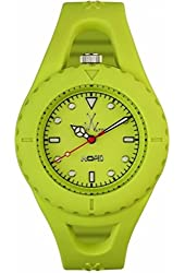 Toy Watch Jelly Looped Green Dial Rubber Silicone Quartz Ladies Watch JL05Li