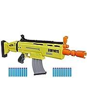 Lanca Dardos Fortnite AR-l, Hasbro Nerf, E7061, Amarelo