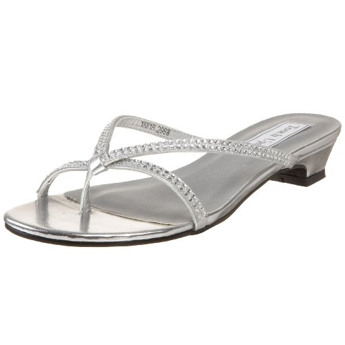- Touch Ups Women's Ashley Sandal,Silver,9 W US