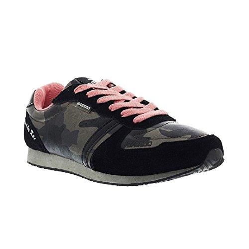 bass3d, Sneaker donna nero