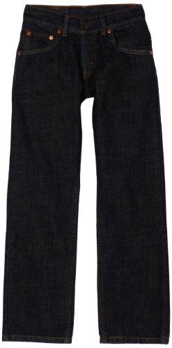 Levi's Boys' 505 Regular Fit Jeans, Armor, 10 Slim