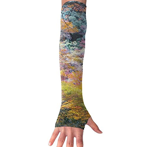 Sonata 1 Piece Shower (Amazing Japanese Fall Cooling Arm Sleeves Unisex Sun Block UV Protection International Fashion)