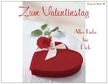 Valentinstagskarte Valentinstag Geschenke Valentinstagsgeschenke