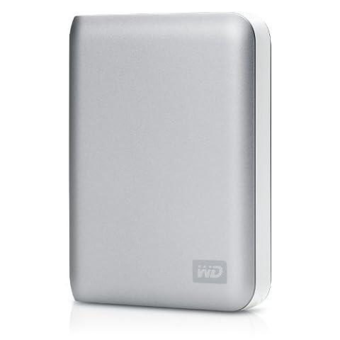 WD My Passport SE for Mac 1 TB USB 2.0 Portable External Hard Drive (Silver) (Buffalo 1 Tb External Hard Drive)